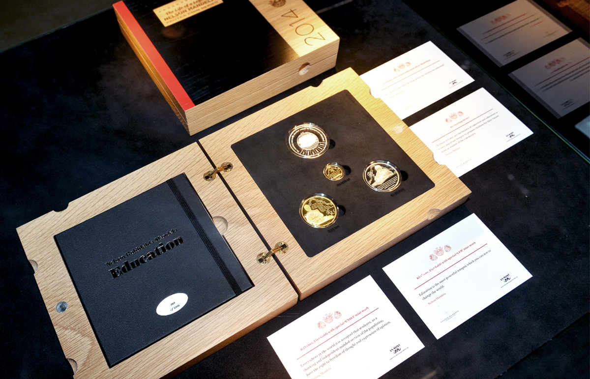 'Mandela Series' Commemorative Boxes
